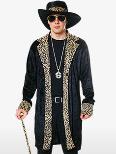 FANC4881_lnk2.jpg (242×323)  sc 1 st  Pinterest & Pimp Costume White and Leopard Skin Pimp Costume : Get It On Fancy ...