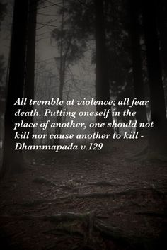 tipitaka (pali canon theravada) ☸️ Dhammapada v.129, Theravada Buddhism