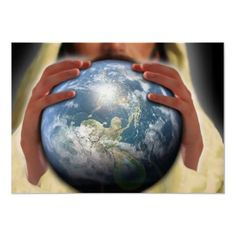 Whole world in His hands... poster print #Gravityx9 Designs #Zazzle #religious #wholeworldinhishands
