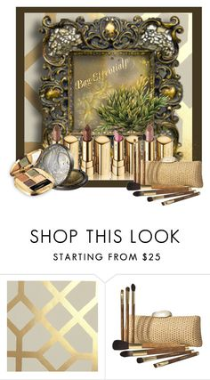 """""""Bag Essentials!"""" by eco-art ❤ liked on Polyvore featuring beauty, Designers Guild, Dolce&Gabbana and Sonia Kashuk"""