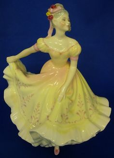 Royal Doulton Ladies Figurine - 'Ninette' HN2379 - First Quality
