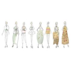 #DelpozoSS16 Sketches by our Creative Director @josepfontc