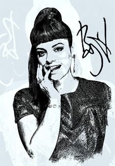 Lily Rose Beatrice Cooper, known professionally as Lily Allen, is an English singer, songwriter, actress, and television presenter. She is the daughter of actor Keith Allen and film producer Alison Owen.