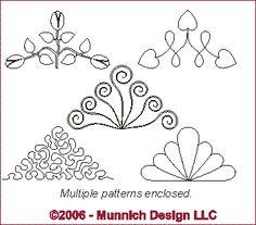 Free Continuous Machine Quilting Designs | digitized machine quilting patterns free quilting pattern for ...