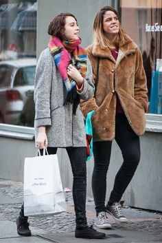 Berliners express their fashion energy on the street. [Photo by Matti Hillig]