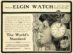 Early Elgin ad ‹ Strickland Vintage Watches