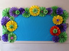 Bulletin board border.