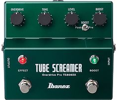 IBANEZ TS808DX Tube Screamer w/Booster