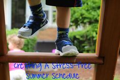 Creating a stress-free summer schedule for the kids
