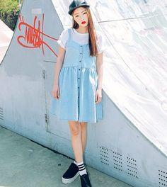STYLE NANDA - LUX SKIRTS ®™ NANDA-NANDA-D225 (DENIM) -- IDR 615,000 For order or question, please contact us LINE ID: naesylli94 Follow our IG: @import_stuff99 #jualanku #bajuwanita #fashionwanita #modecewek #wanita #girl #cute #cantik #preorder #pokorea #jualan #blouseimport #blouse #koreafashion #fashion #fashionblogger #beautyfashion #kosmetik #stylenanda #olshopindo #koreastyle #korea #lifestyle #fashion #bloggerindo #bajukodok #rippedjeans #trustedseller #jualanbaju #stylenanda