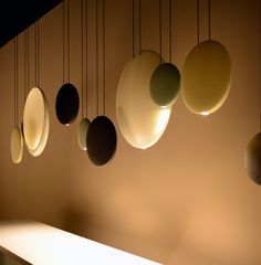 COSMOS pendant lights by Lievore Altherr Molina.