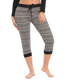 Another great find on #zulily! Heather Gray Geometric Joggers - Women #zulilyfinds