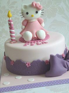 Hello Kitty birthday cake by The Designer Cake Company, via Flickr