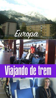 Amo viajar de trem pela Europa. Pra mim é a melhor opção de transporte pelo velho continente por vários motivos. Confira se não vale a pena :).