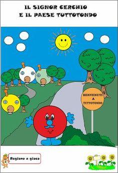A Scuola con Poldo: Il signor Cerchio e il paese Tuttotondo