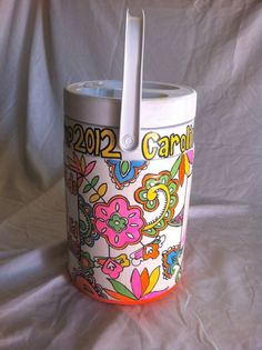 painted water cooler