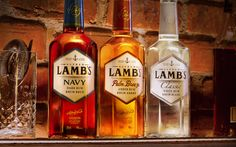 Lamb's: A Family of Fine Smooth and Refined Rums — The Dieline - Branding & Packaging