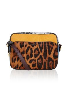 Make a style statement with our multi patchwork camera bag, featuring faux snakeskin, leopard print and contrast leather-look panels. This bold design has a zip-top fastening, and has an adjustable shoulder strap. Mode Statements, Accessorize Bags, New Handbags, Women's Accessories, Purses And Bags, Shoulder Strap, Gifts, Bunt, Style Inspiration