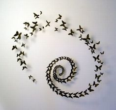 not a big butterfly fan, but this is really pretty. simple and easy.