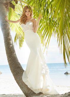 blush-hayley-paige-bridal-lace-chiffon-fit-flare-gown-sweetheart-corset-pick-up-bubble-hem-1502_zm.jpg (648×903)