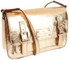Kate Spade New York Flicker Scout Cross Body,Gold,One Size for $229.94