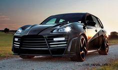 Custom Flashback – 2009 MANSORY Chopster Was Carbon Widebody Cayenne Turbo S