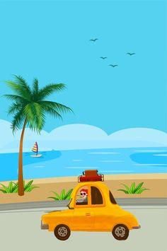 ทึ Beach Trip, Summer Beach, Simple, Travel, Beautiful, Home Decor, Creativity, Viajes, Decoration Home