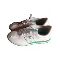 Pre-owned New Balance Trainers ($55) ❤ liked on Polyvore featuring shoes, sneakers, new balance sneakers, new balance trainers, new balance, new balance footwear and pre owned shoes