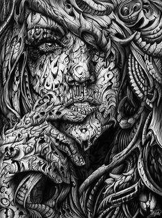Pencil 3D sketch