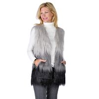 Spanner - - Online Shopping for Canadians Summer 2016, Spring Summer, Faux Fur, Fur Coat, Vest, Canada, Long Hair Styles, Shopping, Sweaters