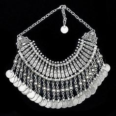 A modern copy of an ethnic necklace from SE Anatolia (19th century). Kurdish style.