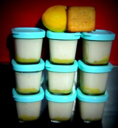 Clotted Cream, Creme Brulee, Cookies Et Biscuits, Milkshake, Coco, Mousse, Yogurt, Delicious Desserts, Sweet Tooth
