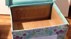 This video presents how to reinforce a non woven box. The required materials are: wood crystallize glue, paintbrush, clear sticking tape, cutter and scissors. Paint Brushes, Reuse, Decoupage, Recycling, Sweet Home, Refashion, Wood, Home Decor, Decoration Home