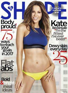 Kate Beckinsale in Shape Magazine – January 2017, Kate Beckinsale, Shape Magazine,