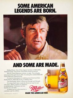 Image result for Bobby Allison Advertisements