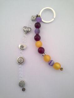 Einmalig-Schlüsselanhänger-handgefertigt von Menara d'oro auf DaWanda.com