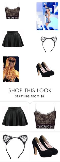 """ariana grande ❤"" by sajazarma ❤ liked on Polyvore featuring Sykes and Lipsy"