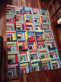 Just finished this scrappy quilt for my son, Cameron. No pink! No flowers! (Well...not too many!) The Quilters House 2014 (SP)