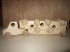 Wholesale 10 Wooden Puzzle Trucks
