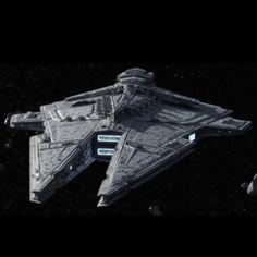 Harrower Class Dreadnaught- Star Wars conversion for Mutants & Masterminds 3e by Kane Starkiller - http://starwarsmandm3e.blogspot.com -