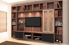 Afbeeldingsresultaat voor rack e estantes para tv