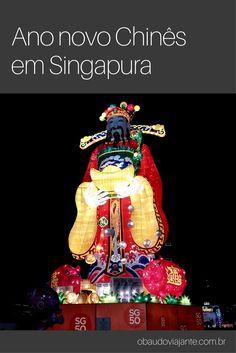 Uma das maiores celebrações em Singapura é o ano novo chinês.  Os chineses compõem grande parte da população do país.