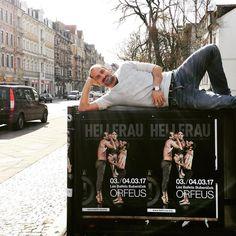 "181 To se mi líbí, 1 komentářů – Jiri Bubenicek (@jiribubenicek) na Instagramu: ""Today at Festspielhaus Hellerau Dresden our German premiere of ""Orfeus""!!! #lesballetbubenicek…"""