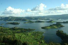 lake bunyonyi. Uganda
