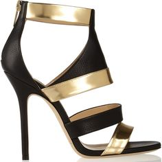 0af78888887d Jimmy Choo - Besso textured and mirrored-leather sandals