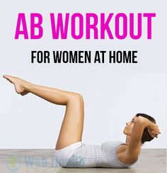 AB WORKOUT FOR WOMEN AT HOME : #ab_wokoruts