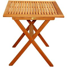 AmazonSmile: LuuNguyen Outdoor Hardwood Folding Table(Natural Wood... (€87) ❤ liked on Polyvore featuring home, outdoors, patio furniture, outdoor tables, outdoors patio furniture, hardwood patio furniture, outdoor table, outside patio tables and outdoor furniture