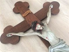 Der Arm, Gingerbread, Etsy Shop, Leaf Clover, Dramatic Play, Antiquities, Crosses, Brown, Figurine