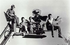 Cool shot of the kids from Stand By Me.  Corey Feldman, Jerry O'Connell, Wil Wheaton, & River Phoenix