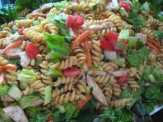 A Bountiful Kitchen: Teriyaki Pasta Salad